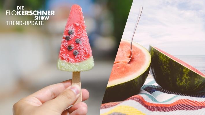 Wassermelonen-Eis am Stiehl - so gehts!