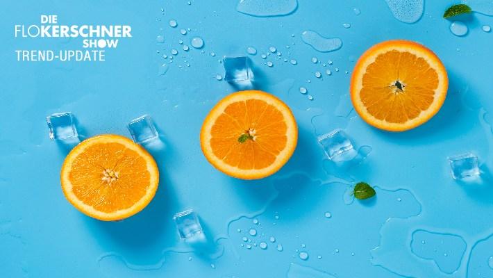 So schmeckt der Sommer - Orangen-Wasser-Eis