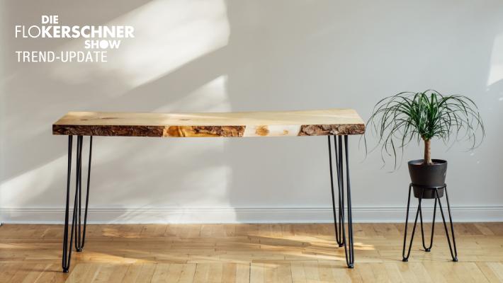 Modische Möbel trotz kleinem Budget
