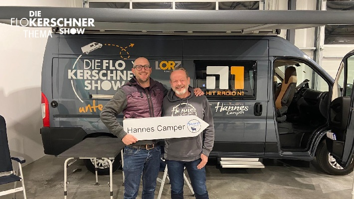 Die Flo Kerschner Show unterwegs! Unser Tour-mobil