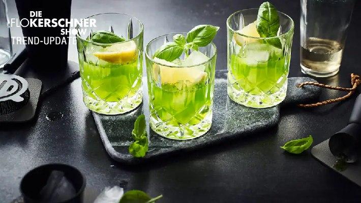 Gin Basil Smash - Der Cocktailtrend 2021