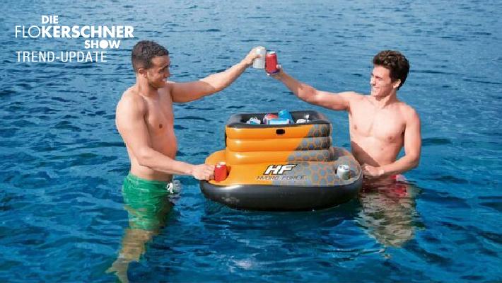 Aufblasbare Kühltruhe - Das Sommer Gadget schlechthin