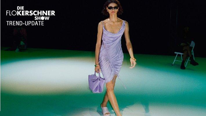 Kleider in Flieder - Der Laufsteg Trend für den Sommer