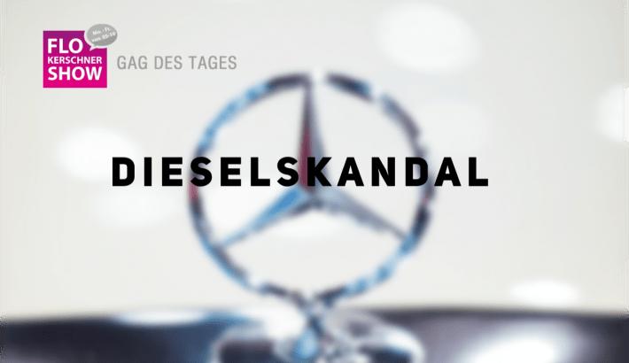 Flos Gag des Tages 😂 Dieselskandal: Daimler muss 870 Millionen Euro Bußgeld bezahlen