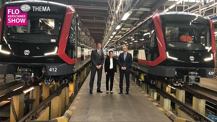 Schicke, neue U-Bahnen für Nürnberg