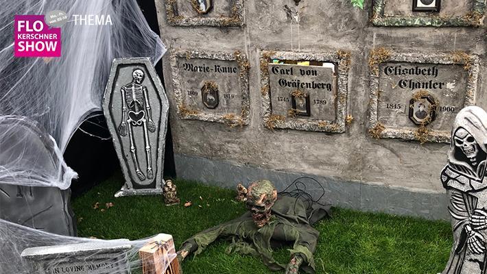 Halloweenhaus Ziegelstein