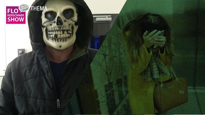 Fieser Halloween-Prank: Dippi erschreckt Lisa!