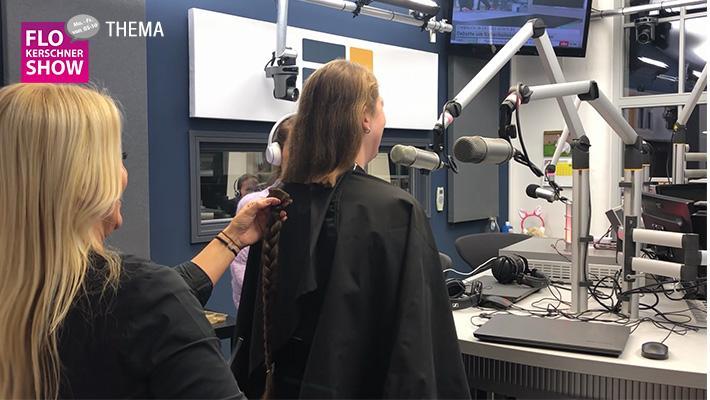 N1-Hörerin spendet Haare für einen guten Zweck!