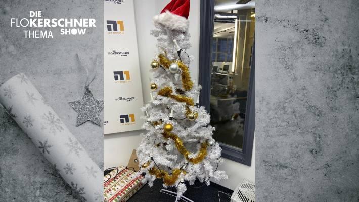 Der Funkhaus Spendentag - wir versteigern unseren Studio-Weihnachtsbaum!
