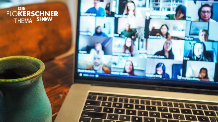 Die Flo Kerschner Show Zoom Redaktionskonferenz