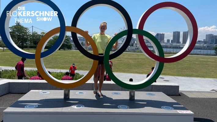 Wir sprechen mit Anabel im olympischen Dorf