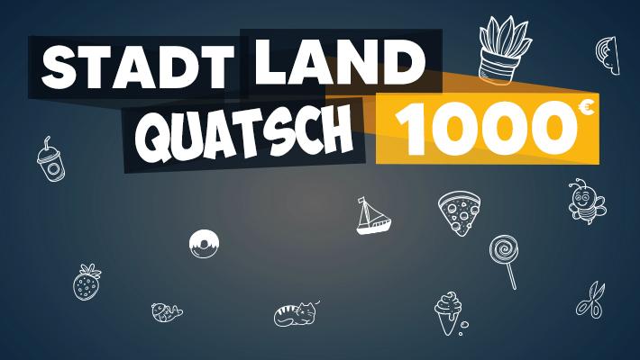 Stadt Land Quatsch 1000