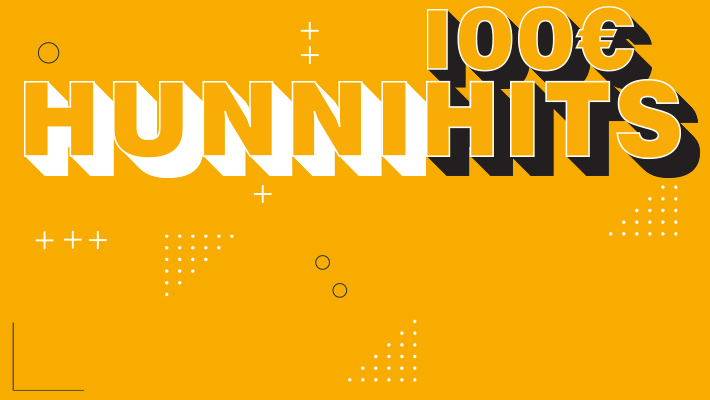 Die Hunni-Hits: Gewinne deinen Anteil an 20.000 €