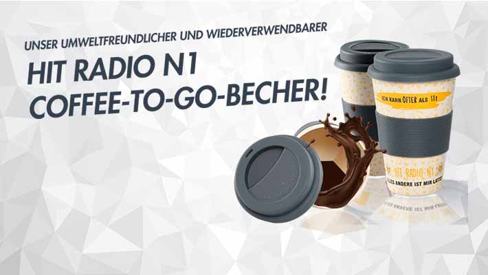 Hit Radio N1 Coffee To Go Becher