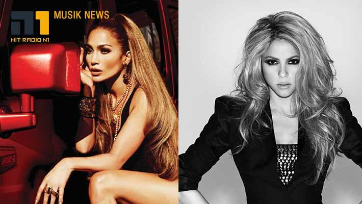 Jennifer Lopez und Shakira rocken die Superbowl-Halbzeitshow