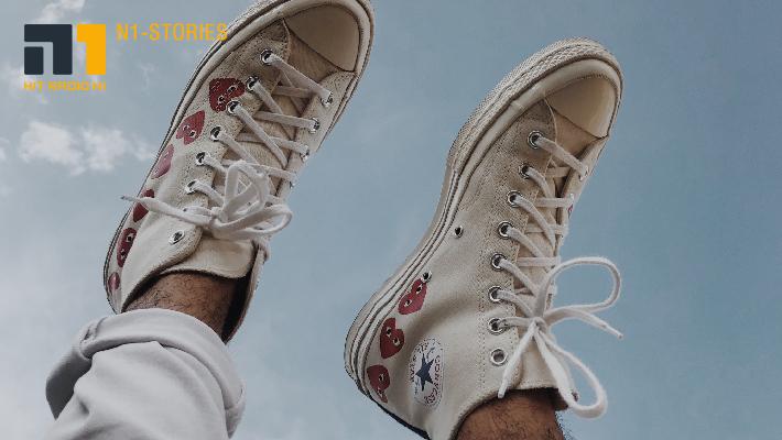 Aus braun mach weiß: Sneaker easy reinigen