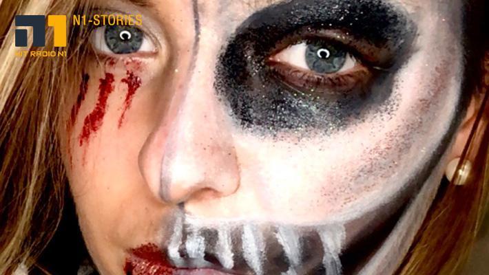 10 Minuten Last-Minute Halloween Make-up