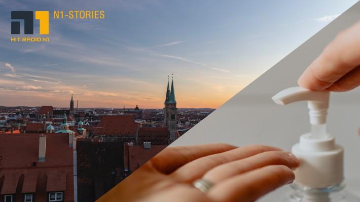 Corona-Ticker für die Stadt Nürnberg