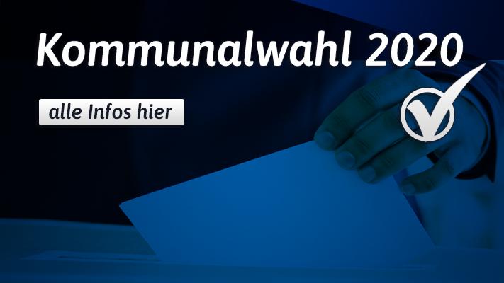 Kommunalwahl 2020 - Ergebnisse & Stichwahl