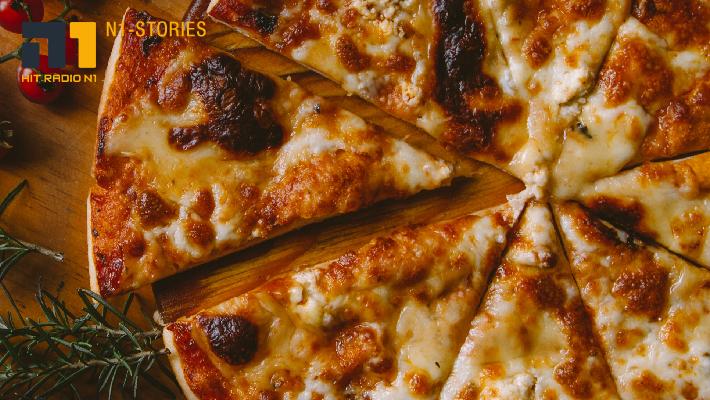 Tiefkühlpizza aus der Pfanne