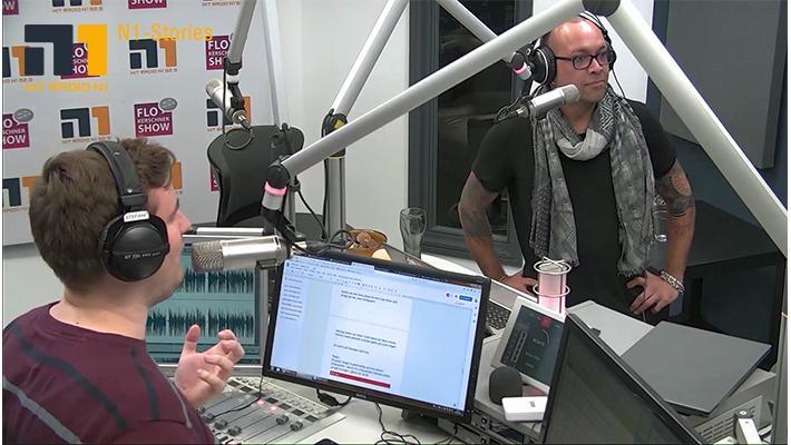 Blick ins Studio: Sven Stefani lernt singen!